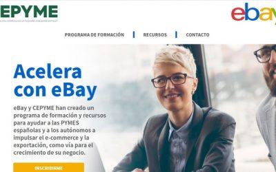 CEPYME de la mano con eBay lanzan su programa de formación gratuita para pymes y autónomos